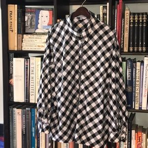 NWOT Nordstrom's Foxcroft Checked Shirt 20W